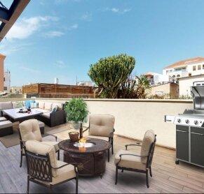 למכירה דירת גן בתל אביב עם חצר ענקית